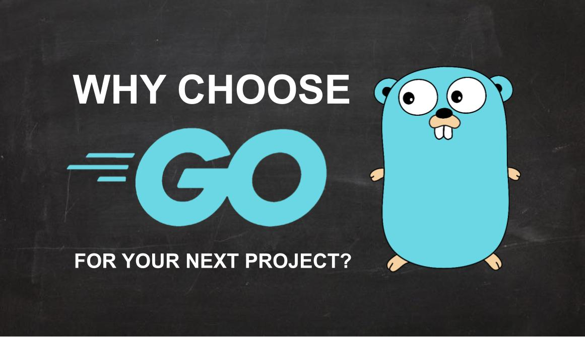 Why choose Go for your next project?